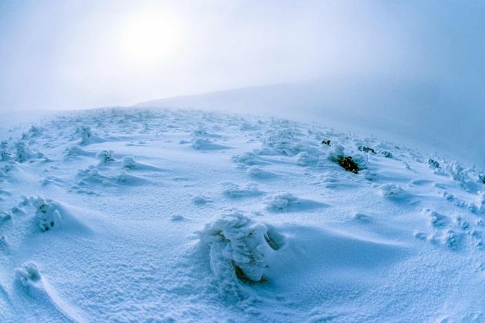 fotografia e paesaggi, neve