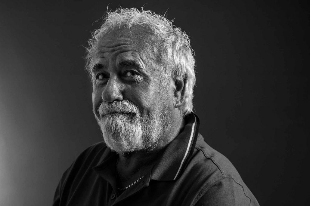 ritratto fotografico, uomo con barba