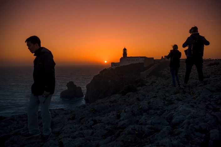 fotografia e paesaggi, tramonto algarve