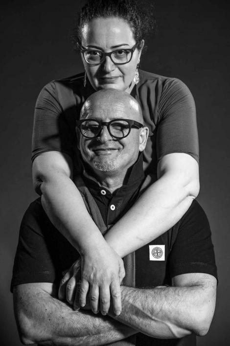 ritratto fotografico, ritratto di coppia