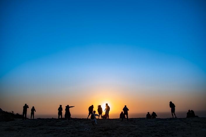 fotografia e paesaggi, gente ad algarve
