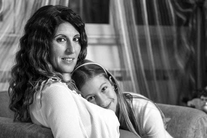 ritratto fotografico, mamma e figlia