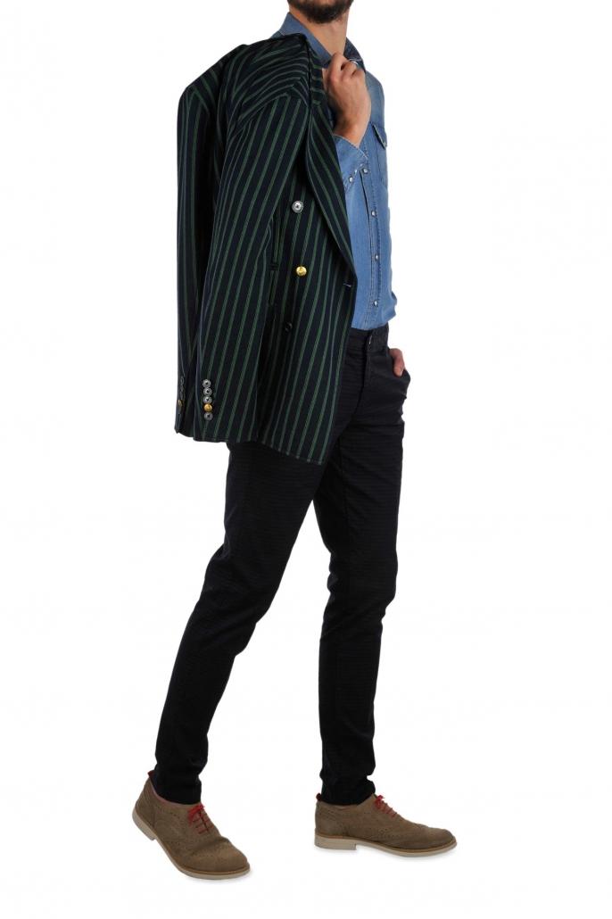 fotografia per e-commerce, completo uomo giacca righe