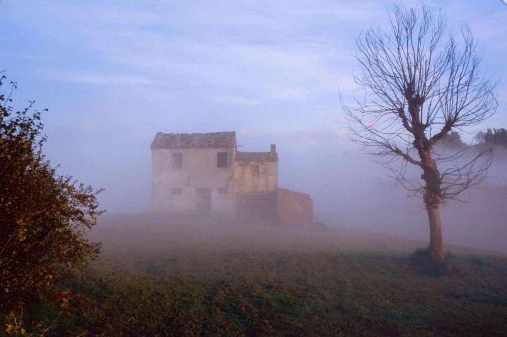 fotografia e paesaggi, marche nebbia