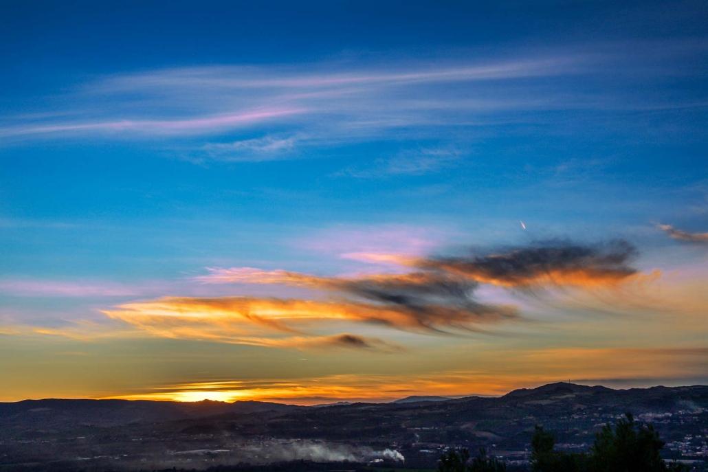 fotografia e paesaggi, tramonto