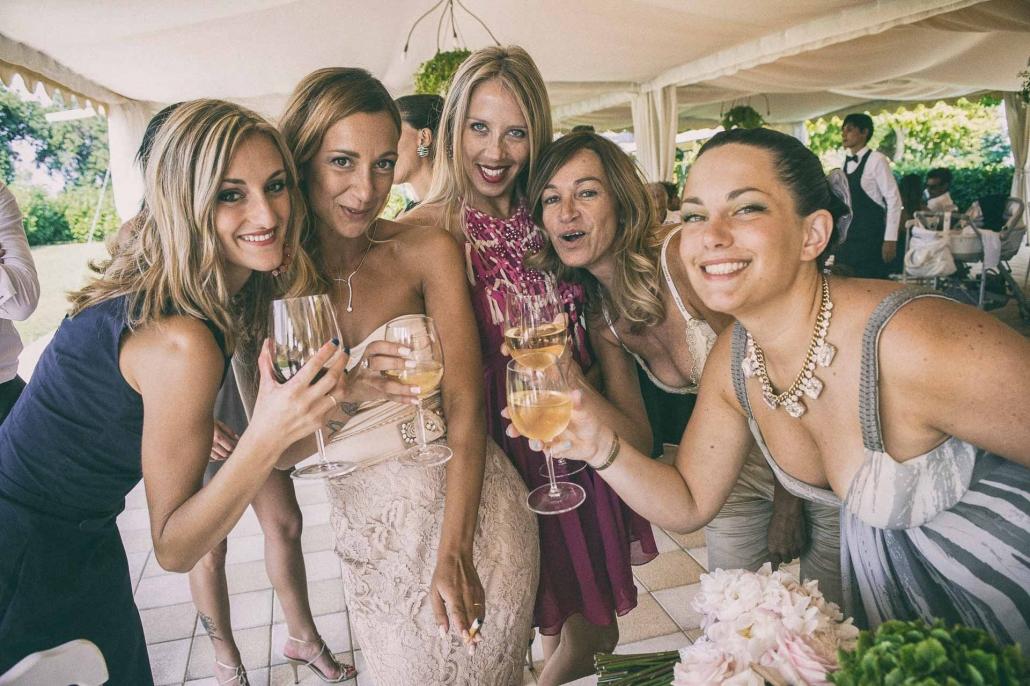 fotografo matrimonio italia, amiche della sposa