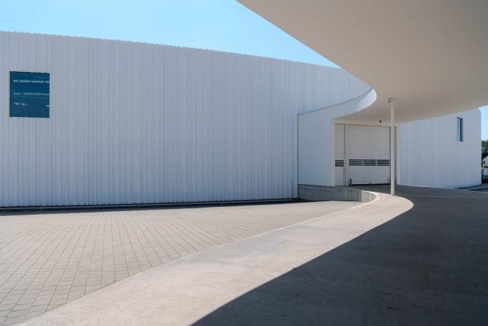 fotografia corporate e fotografia aziendale, esterno stabilimento aziendale