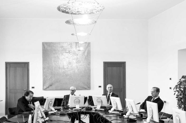 fotografia corporate e fotografia aziendale, riunione di lavoro