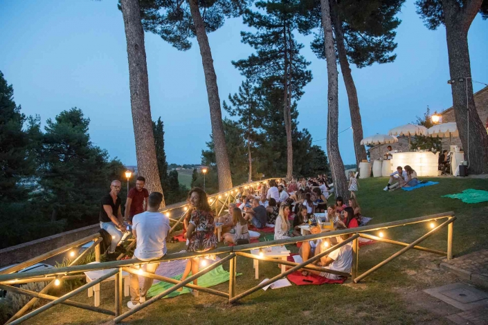 fotografo eventi, festa in giardino
