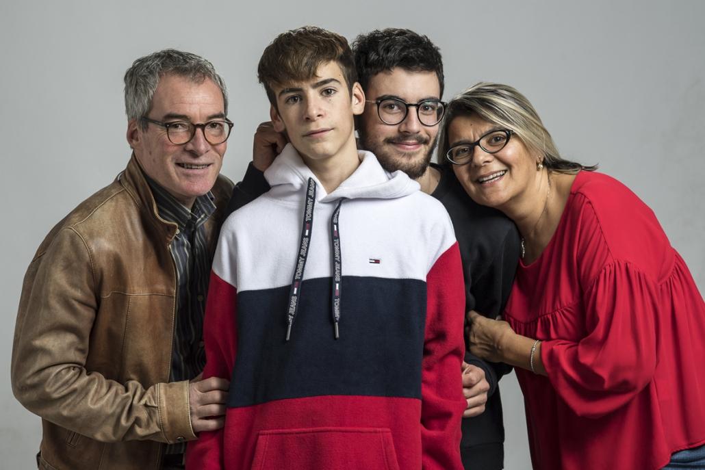 fotografo famiglia, mamma papà e figli