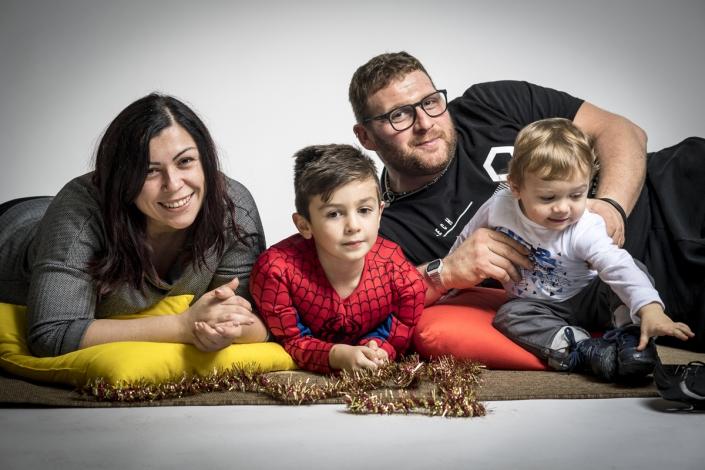 fotografo bambini e famiglia, natale