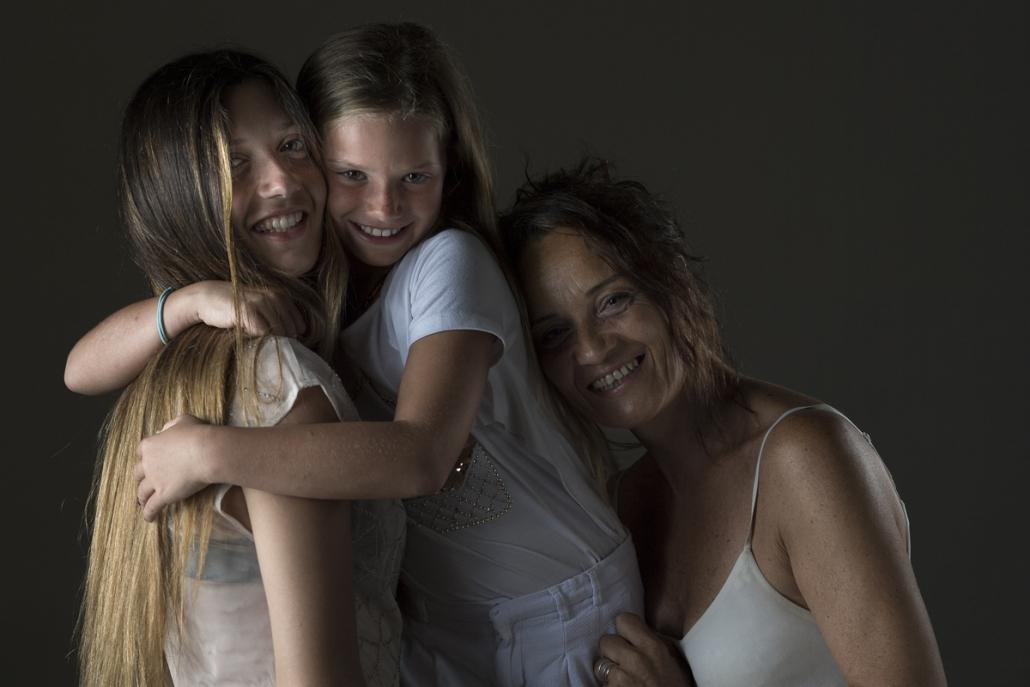 fotografo famiglia, mamma con figlia e nipote