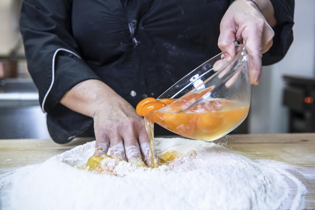 Antico Furlo, pasta all'uovo fatta a mano