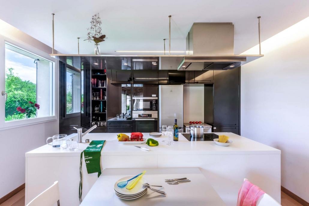 Marcheholiday, Giardino Agapantus cucina