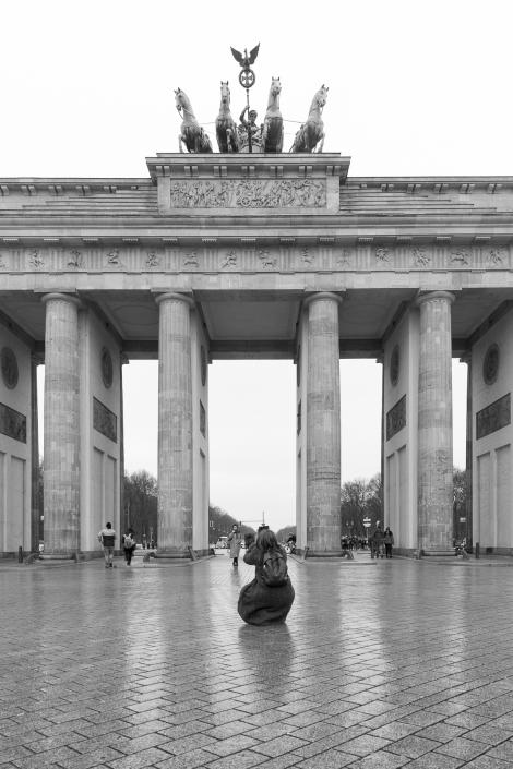 Berlino, porta di Brandeburgo