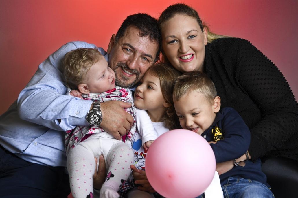 fotografo famiglia, natale