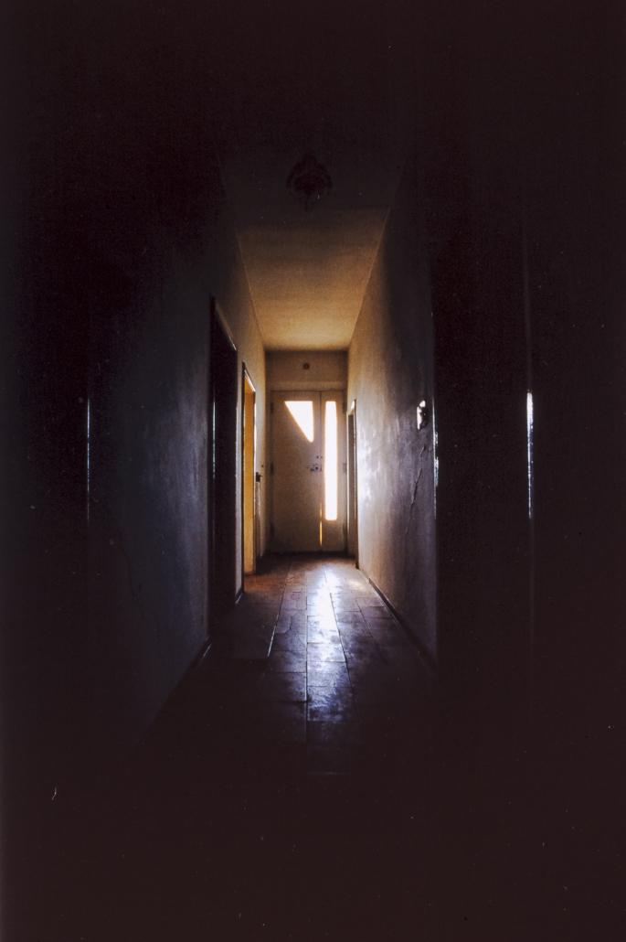 Forme di Memoria, particolare di corridoio